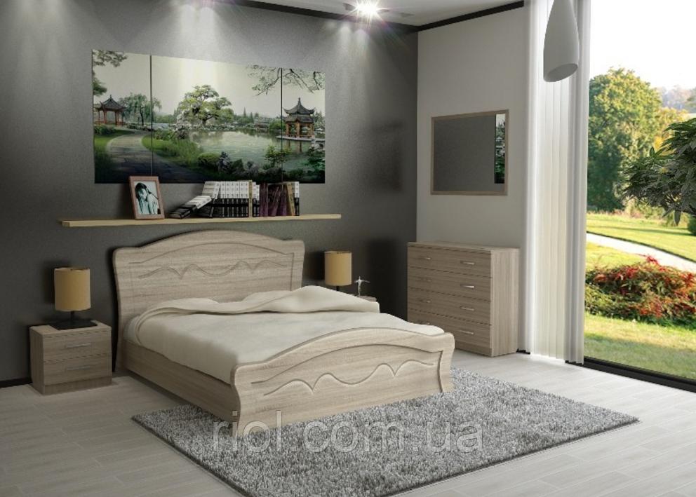 Кровать двуспальная Виолетта ТМ Неман