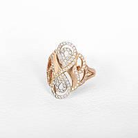 Золотое кольцо бесконечность КП1623