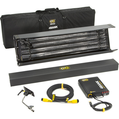 Kino Flo 4Bank Select 4' 1-Light Kit (KIT-484B-120U)
