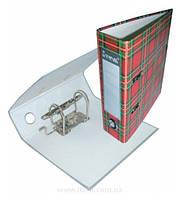Папка-регистратор, А5, 70 мм, РР-покрытие, кармашек для этикетки