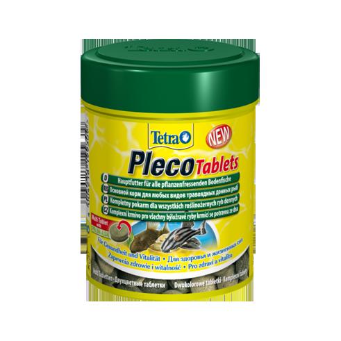 Корм для аквариумных рыб Tetra PLECO 58 таблеток для травоядных донных рыб