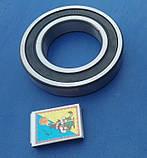 Подшипник качения 6214 2RS радиальный однорядный уплотнённый марки CX шарикоподшипник закрытого типа стальной, фото 3