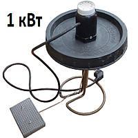 ТЭН для кубических бочек в крышку 1 кВт с РЕЛЕ, автоотключением обогрева