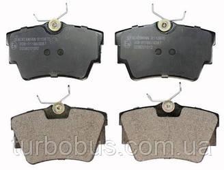 Колодки тормозные задние TRAFIC/VIVARO FAW 21748.17