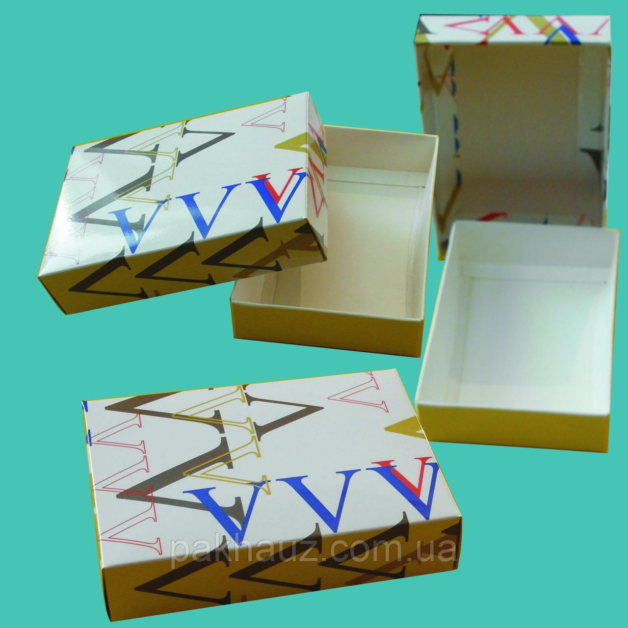 Картонна коробка для гаманців, візитниць