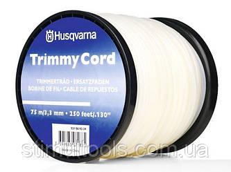 Леска косильная Husqvarna Opti Round Spool White 3.3мм/75м