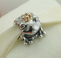 Шарм Pandora Царевна лягушка, серебро