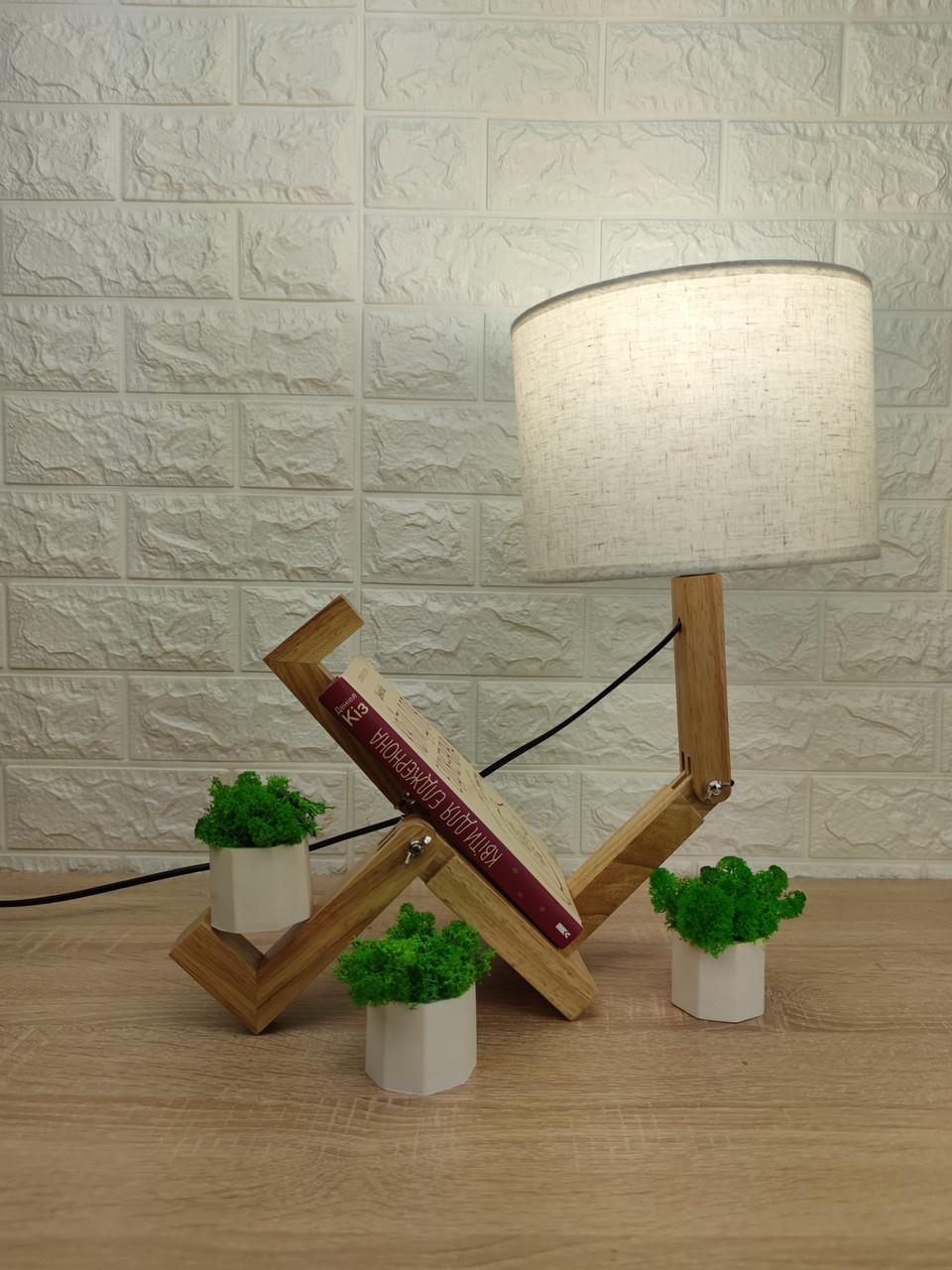 Настільна лампа-чоловічок