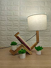 Настольная лампа-человечек