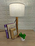 Настільна лампа-чоловічок, фото 2