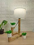 Настільна лампа-чоловічок, фото 3