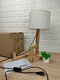 Настільна лампа-чоловічок, фото 6