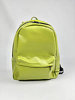 Рюкзак жіночий міський зелений великий