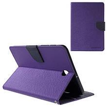 Чехол подставка Mercury Fancy Diary series для Samsung Galaxy Tab S2 8.0 T710 T715 фиолетовый