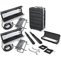 Kino Flo Dual Diva-Lite 201 Fixtures with Flight Case Kit (120VAC) (KIT-D22-120), фото 1