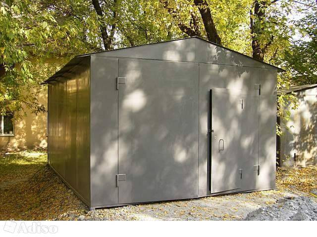 Железные гаражи в одессе металлический гараж для автомобиля цена