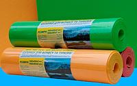 Коврик для спорта и туризма двухцветный 16 мм 60x1800