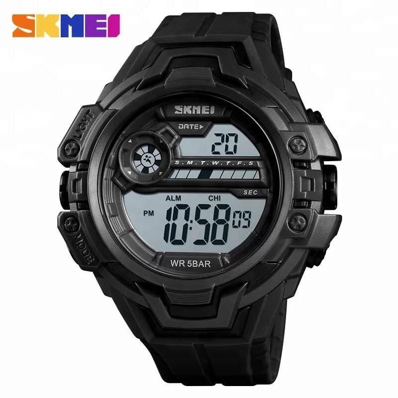 Військовий годинник Skmei 1383 (Black)