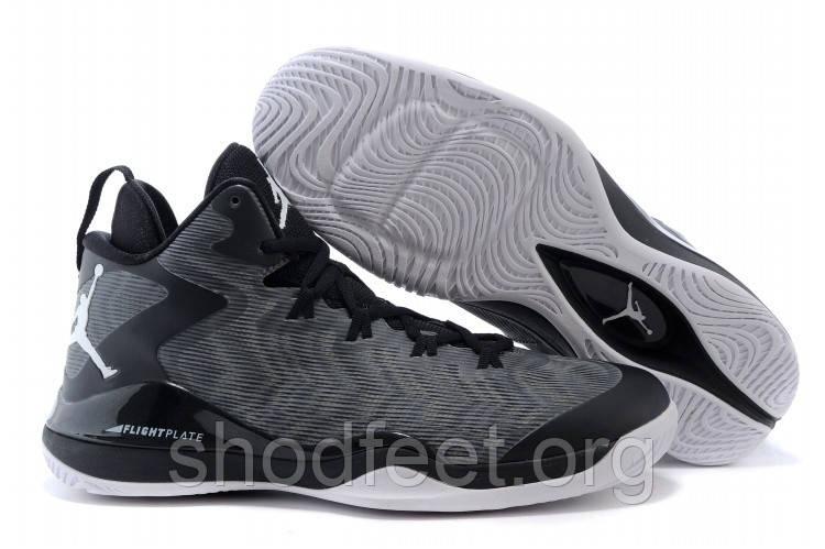 Мужские кроссовки Jordan Super Fly 3 Black/Grey
