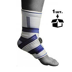 Спортивный бандаж на голеностоп Power System Ankle Support Pro PS-6009 Blue/White S/M