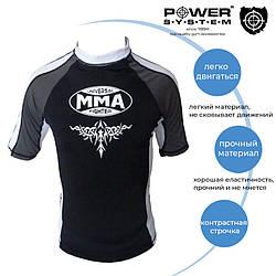Рашгард для MMA Power System 003 Scorpio XL Black/White