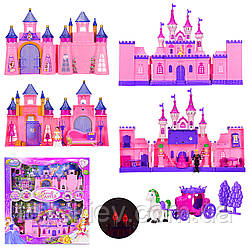 Замок SG-2957 (8шт) фигурки,мебель,аксес,свет,звук,в кор. 57*6,5*58 см, р-р игрушки – 20*9*27 см