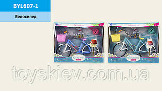 Велосипед для куклы BYL607-1 (48шт|2) 2 вида, в коробке 31*6.5*25 см