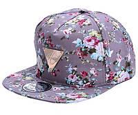Стильная цветочная кепка Хип-Хоп
