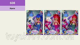 "Кукла ""SS"" 608 (96шт 2) 3 вида,расческа,зеркальце,духи,р-р игрушки - 17 см, в кор.17,5*5,5*26,5см"