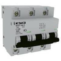 Автоматический выключатель (Автомат) ВА47-100-3С80-УХЛ3-КЭАЗ