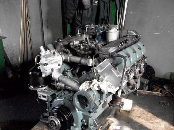 Двигун КАМАЗ-740