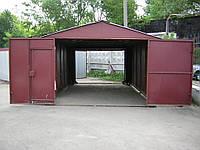 Металлический гараж на вывоз