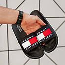 Чоловічі тапочки Tommy Hіlfiger Black, фото 4