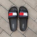 Чоловічі тапочки Tommy Hіlfiger Black, фото 2