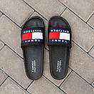 Мужские тапочки Tommy Hіlfiger Black, фото 2