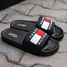 Мужские тапочки Tommy Hіlfiger Black, фото 3