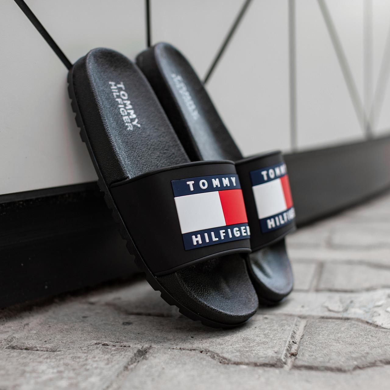 Чоловічі тапочки Tommy Hіlfiger Black