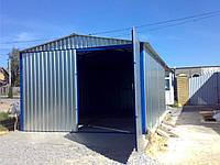 Купить новый металлический гараж