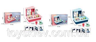 Кухнная мийка BQ688-1/2 (12шт) 2 види,тече вода,посуд,аксесуари,в кор. 45,1*28*12,1 см