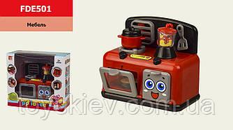 Мебель FDE501 (54шт|2) кухня, с бытовой техникой,звук, свет, в кор. 15,5*7,5*14 см, р-р игрушки – 11