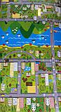 """Килимок дитячий «паркове місто"""", т. 8 мм, хім зшитий пінополіетилен, 120х300 див. Виробник Україна, TERMOIZOL®, фото 6"""