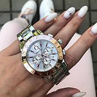 Женские металлические серебряные часы Pandora Silver Gold, жіночий годинник Пандора