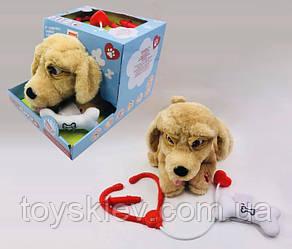 Интерактивное животное 099 (6шт)Собачка,звук,движение, в коробке 30*23*25см