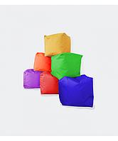 Мягкий квадратный пуфик Куб в разных цветах