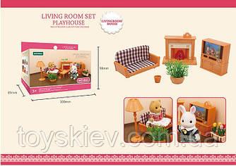 Мебель для флоксовых животных  B11 (120шт)  гостинная , |фигурки животных  в набор не входят|, в кор