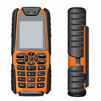 Тактический телефон LAND ROVER (копия в стиле RANGE ROVER) XP3300 - 1 Sim, 16000 mAh power bank, фото 1
