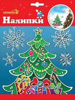 Наклейка новогодняя для окон 1 Вересня 24 х 18см, 800790
