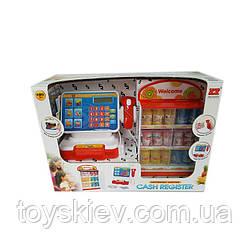 Кассовый аппарат 6145H (8шт 2) батар.,звук.,сканер,калькулятор, продукты, в кор. 42*16.5*29.5 см