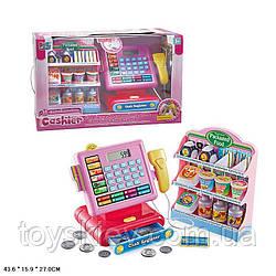 Касовий апарат 16829 (10 шт) світло,звук,калькулятор,скані,монетки,полиця з продуктами,в кор.43,6*15,