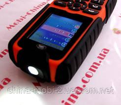Тактический телефон LAND ROVER (копия в стиле RANGE ROVER) XP3300 - 1 Sim, 16000 mAh power bank, фото 2